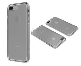 Body Glove Clownfish Aluminium case for iPhone 7 - Clear / Silver